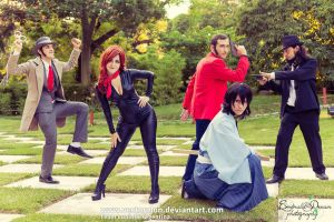 Team LupinIII Cosplay Feb2014 photo67 by Vectorolon