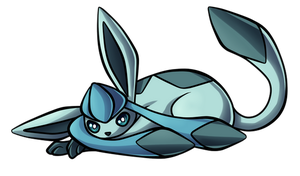Day 23 - Glaceon by Ashteritops