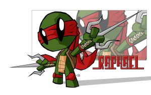 TMNT - RaphRevised - B.Style by bainesyfellah