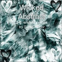 Wicked Abstract by SilphCreator