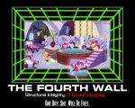Pinkie Pie and the Fourth Wall by AtomicGreymon