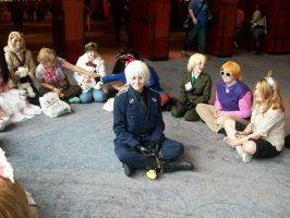 APH: World Meeting: Prussia: Pleased with Me by AmaranthBlacktree