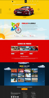 Joomla template - Parallax by DarkStaLkeRR