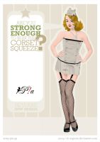 Corset Army - Pin up by El-ArGeNtO