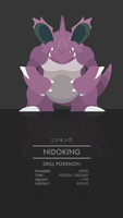 Nidoking by WEAPONIX