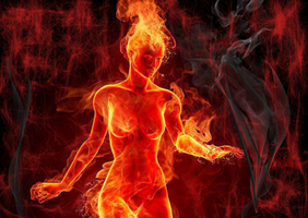 girl on fire by kristina070
