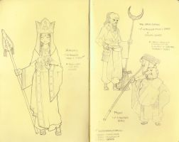 Sketchbook - Saiyuki Concepts by Paperfiasco