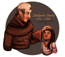 Memoirs of a Californian Junipero Serra by golden-poppy-bae