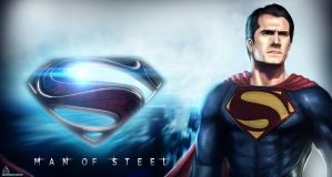 Man Of Steel by TheFearMaster