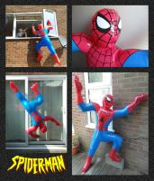 The Inflatable Spider-man! by mikedaws