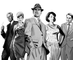 Mad Men by ExecutiveOrder9066
