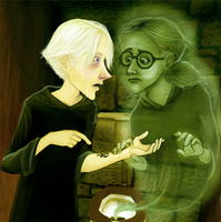 Draco Malfoy is a pussy by greendesire