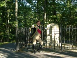 Me as Benedict Arnold by DarthMalice66