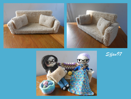 Crochet Couch by SJFan97