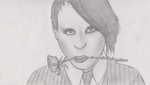Marilyn Manson by iBoy98