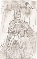 Batman DCNU Sketch by BobTheEgg