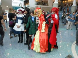 Black Butler- Comikaze Expo 2013 by MidnightLiger0