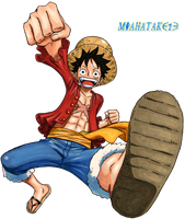 Luffy render by miahatake13