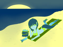 100 Palette Challenge-Varsha on da Beach by gaper4
