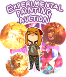 Experimental Painting Auction by kub-e