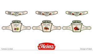 Heinz labels for sauce by tbubicans