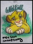Airbrush Simba T' by Galaxys-Most-Wanted