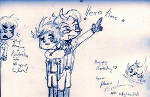 Hetalia Birthday sketch by Kittychan2005