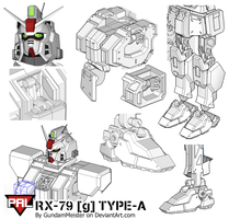 RX-79 [g] TYPE-A (wip) by GundamMeister