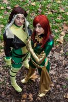 Rogue and Phoenix 2012 by MaddMorgana