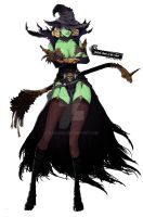 4. Wicked Witch of the West by ZAQUARD