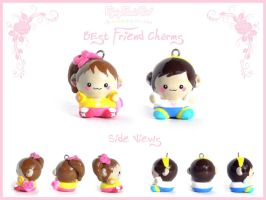 Best Friend Charms by FlyingPandaGirl