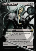 Desolation Angel -Sephiroth- by flappyb