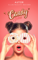 CANDY TIME - WATTPAD COVER by AdmireMyStyle
