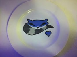 Sly Cooper Plate by BabyTurtle64