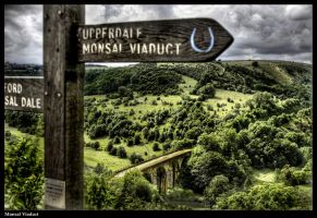 Monsal Viaduct by Megglles