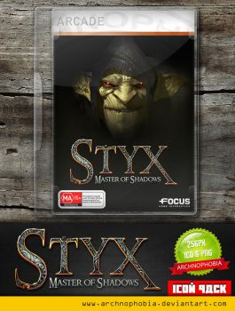 Styx: Master Of Shadows (Icon Pack) by archnophobia