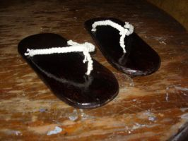 Japanese Shoes by piojote