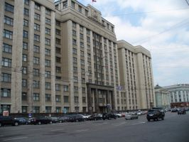 The building of the State Duma by Garr1971