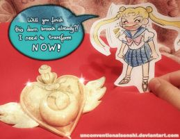 PaperChild Usagi by unconventionalsenshi