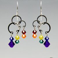 Solar Wind Earrings- SOLD by YouniquelyChic