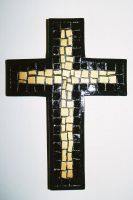Mosaic Cross by spicorder-stock