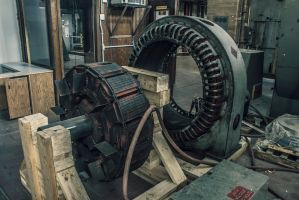 Some sort of large electric motor deal by 5isalive