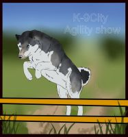 Balto at K-9City by HauntedArea