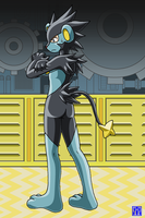 Living Suit of Luxray 2 by sinrin8210