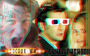 Doctor Who Cyber Paradox Wallpaper 1024x640 by Twerka-Trever