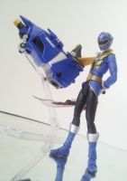 Gokai Blue by 0PT1C5