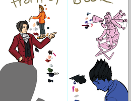 Turnabout Musical CD Front WIP by Paz-Enai