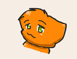 IPad Drawings: Orange Cat by goodlucklight