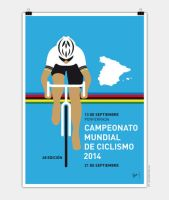 MY UCI Road World Championships POSTER 2014 by Chungkong