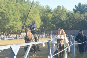 King Richard's Fair, Jousting Time by Miss-Tbones